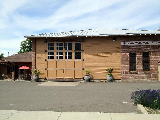 Canoe Ridge Vineyard: Our Winery: A Historic 1905 Engine House