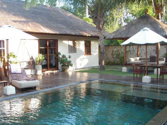 Belmond Jimbaran Puri: Villa Pool & Bedroom