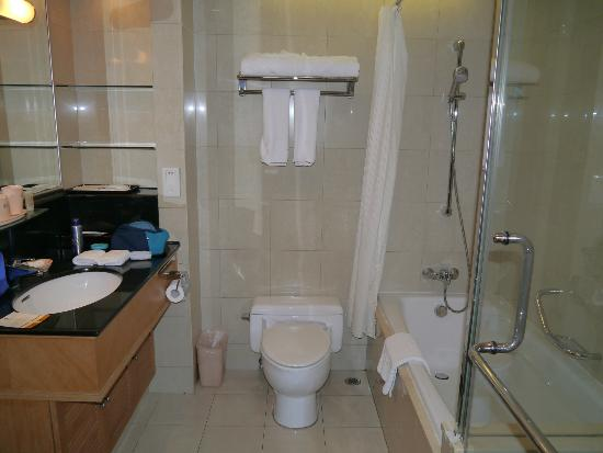 Lee Garden Service Apartment Beijing: Bathroom