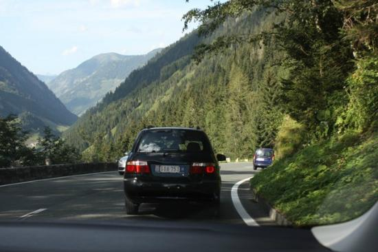 Grossglockner: Drive down to Fusch Gate