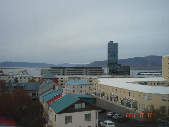 Hotel Klettur: View in our room