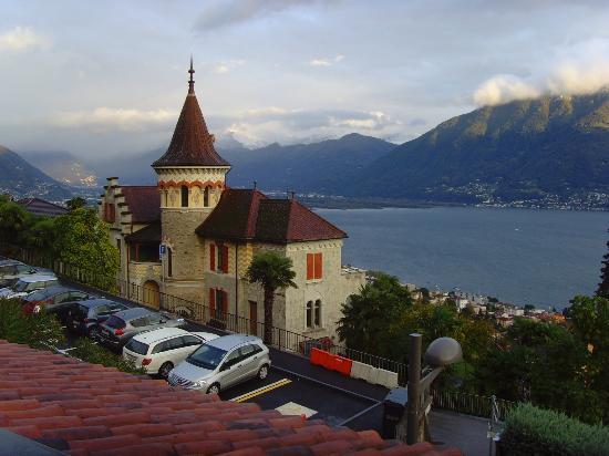 Hotel Mirafiori: Vue de la chambre