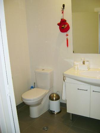 Auckland Birdwood House B&B: Spotless bathroom
