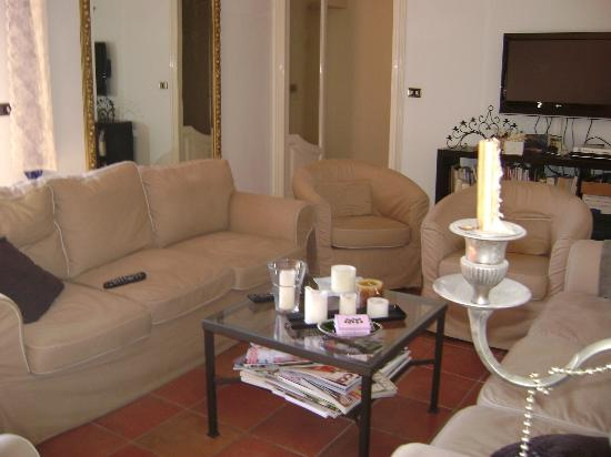 B&B Antica Dimora Caruso: the living room