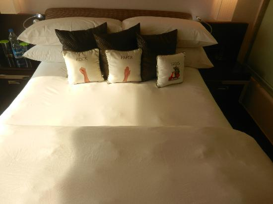 Leisure Inn West Gurgaon: A confortable bed