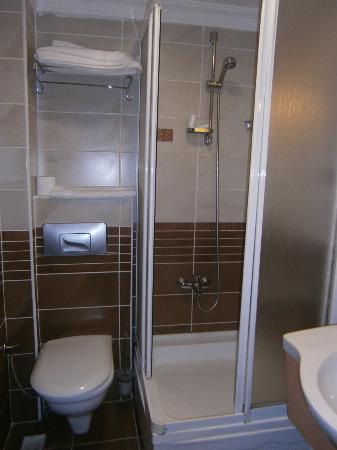 Kupeli Hotel: Baño