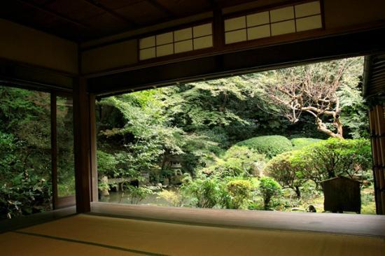 Chorakuji Temple: 園池