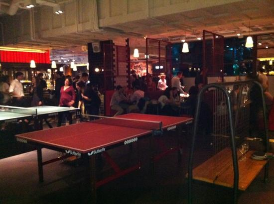 ping pong picture of bounce farringdon london tripadvisor. Black Bedroom Furniture Sets. Home Design Ideas