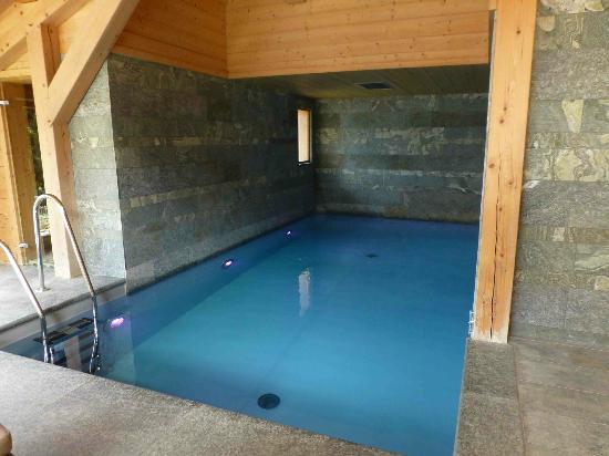 Relais & Chateaux Flocons de Sel: piscine