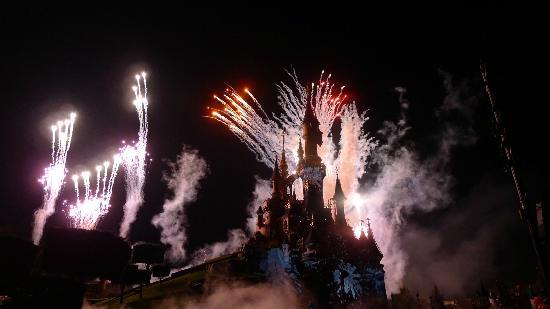 Disneyland Hotel : Feuerwerk