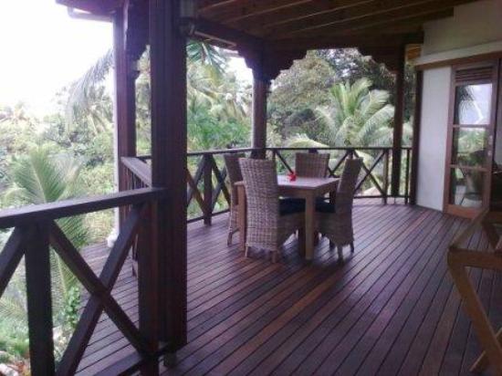 Villas de Jardin: Barcony