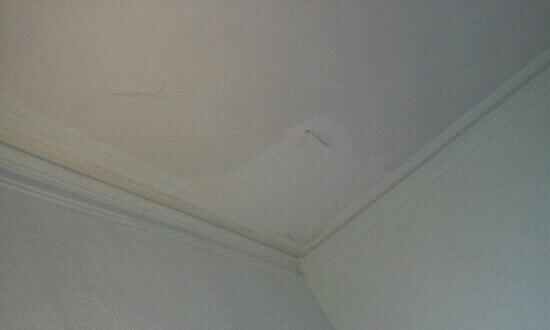 The Anchorage Hotel: Damp poorly repaired