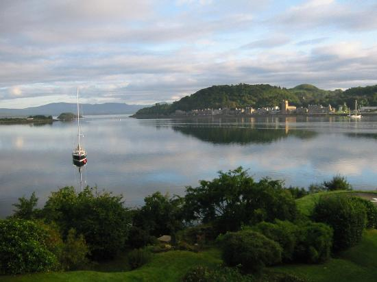 Manor House Hotel Restaurant: Oban Harbour view from Manor House