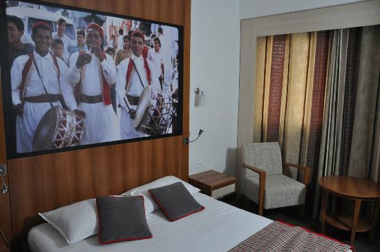 Carlton Hotel Tunis : new room