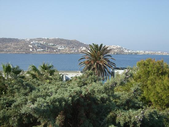 Mykonos Theoxenia: View from balcony
