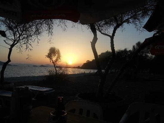 Nazar Garden Hotel : Sunset