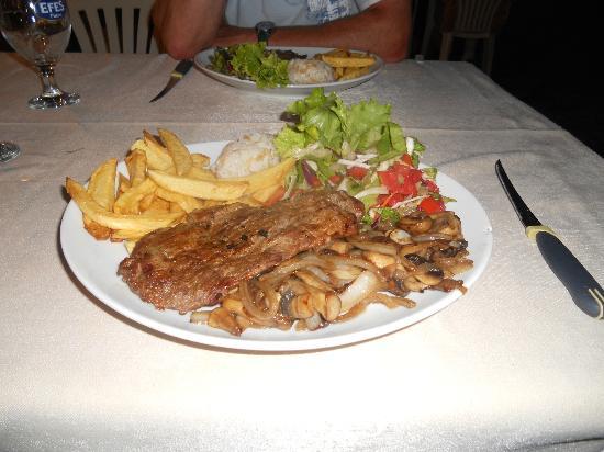 Nazar Garden Hotel : Excellent Food
