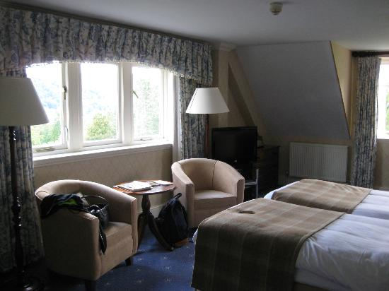 Lindeth Howe Country House Hotel: our room for four nights