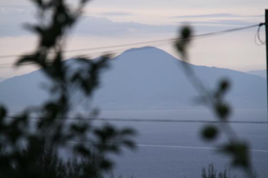 Da Carlo a Veterino: Uitzicht op de Vesuvius vanaf terras