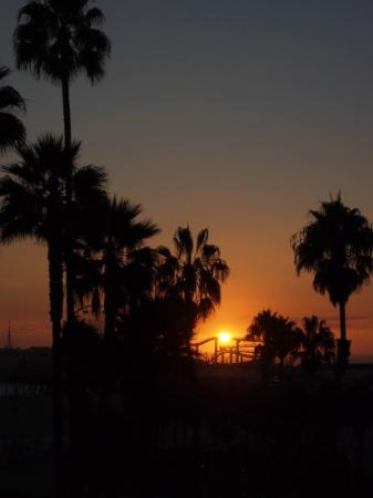 Loews Santa Monica Beach Hotel: Have a beer and watch the sun go down