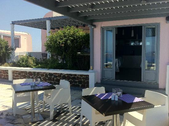 Xenones Filotera: Dining area