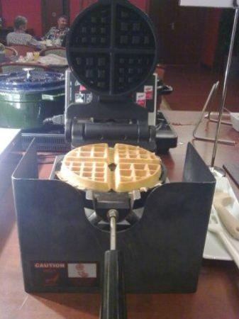 NH Gent Belfort: Making your own waffle 2