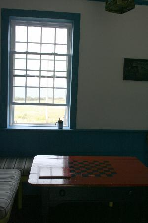 West Quoddy Head Station: Dining area