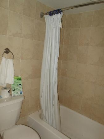 Divi Southwinds Beach Resort: shower/tub