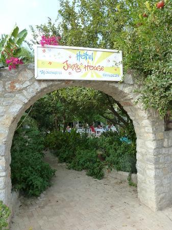 Selimiye, Turkey: entrance to Jennys House