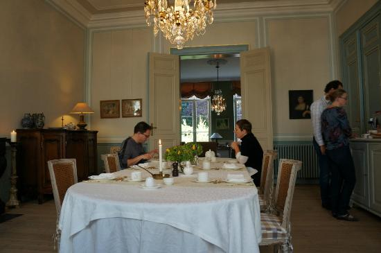 B&B de Corenbloem: Breakfast room