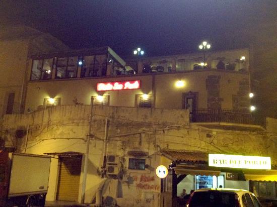 Restaurant Porto San Paolo: Exterior of restaurant