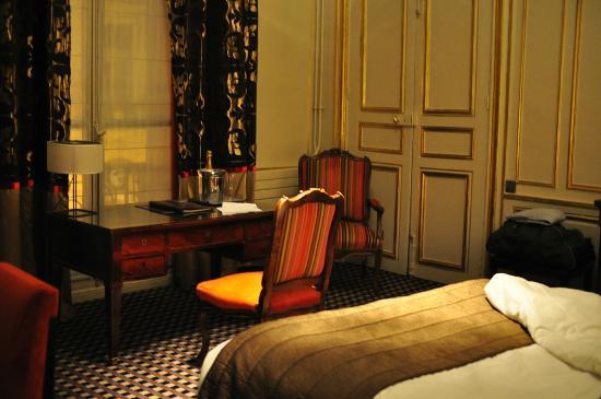 Hotel Mansart - Esprit de France: chambre