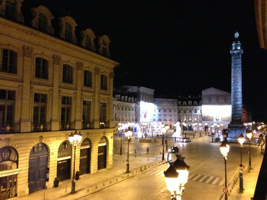 Hotel Mansart - Esprit de France: vue