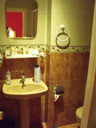 Hostal Tijcal: il bagnetto