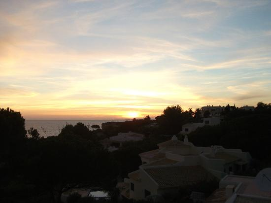 Algar Seco Parque: Sunset from our rooftop