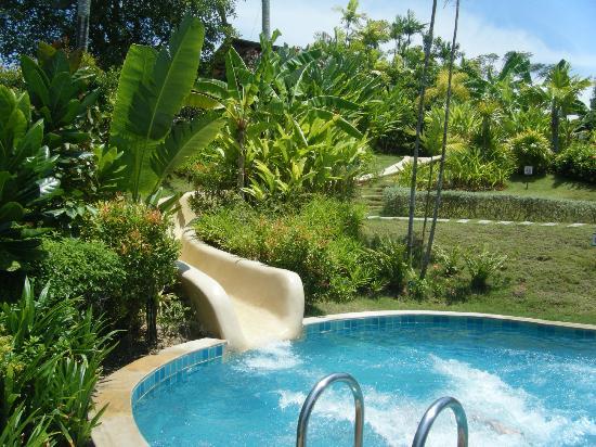 The Village Coconut Island Beach Resort Waterslide