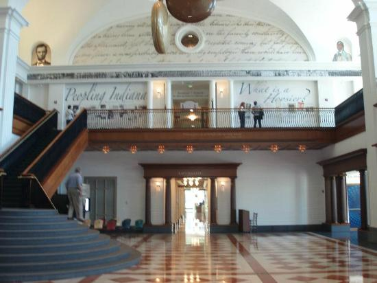 Indiana Historical Society: Main room of Historical Society