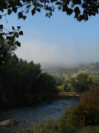 Sylvan Dale Guest Ranch: View of river