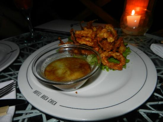 Restaurant Boca Chica: Fried Calamari Rings