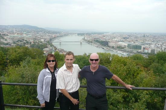 Cityrama Sightseeing Tours : with our guide Balazs