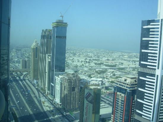 view of sheikh zayed road from room picture of rose rayhaan by rh tripadvisor ca