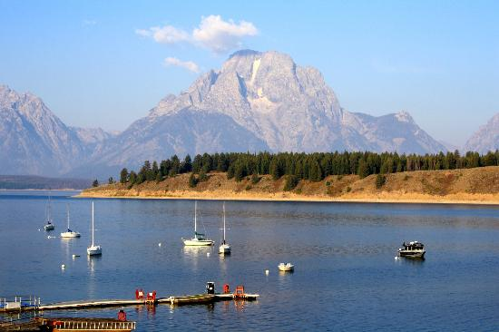 Signal Mountain Lodge: Picture perfect - Mt. Moran