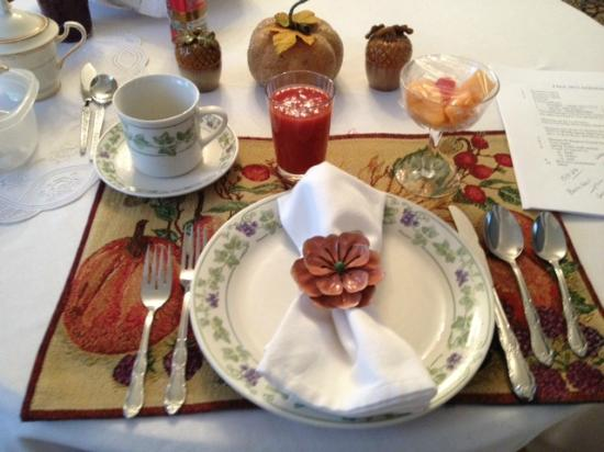 Conroy House Bed and Breakfast: A most welcoming breakfast