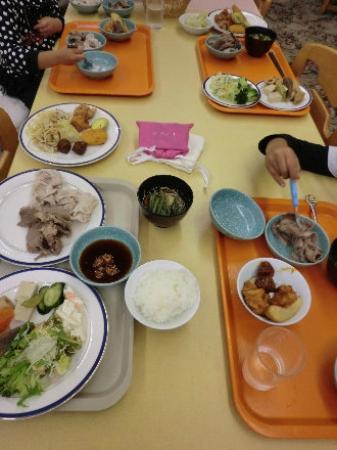 Hotel Seimei So : 夕食バイキング