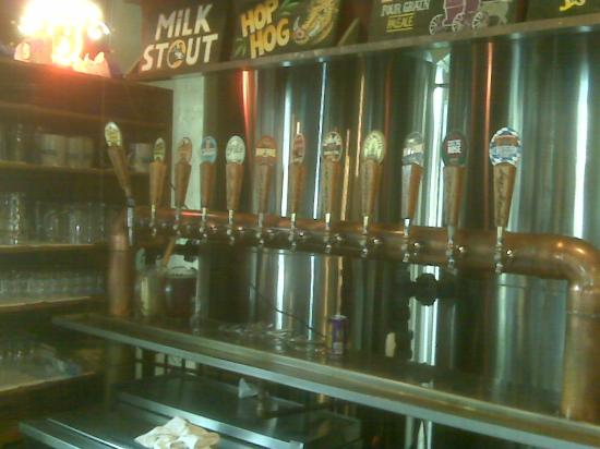 Lancaster Brewing Company: The Taps