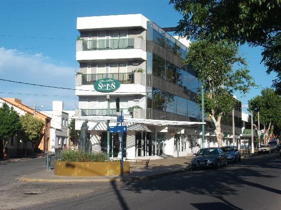 Gran Hotel San Luis: Extremo donde están las suites