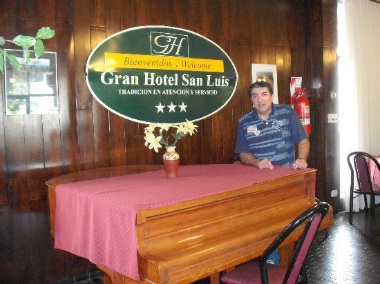 Gran Hotel San Luis: Zona del comedor