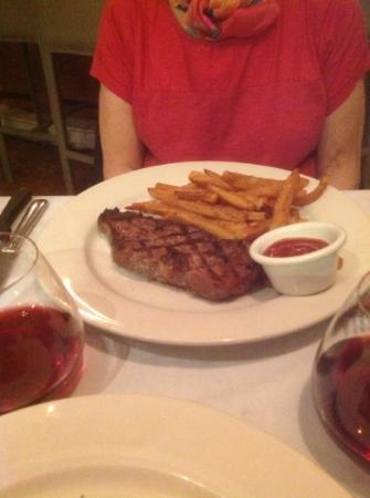 Settepani : Steak and fries