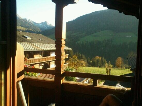 Haus Sonnwend: view from the terasse