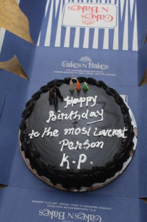 Cakes and Bakes: happy birthday